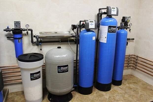 Фильтры умягчения воды: принцип работы
