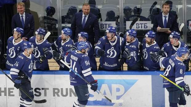 Московское «Динамо» 2-й раз подряд победило ЦСКА в регулярном чемпионате