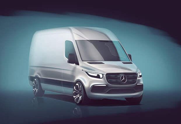 Mercedes-Benz привезет новый Sprinter в Россию