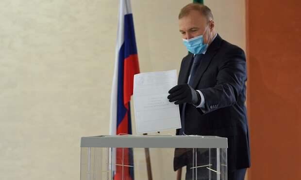 Глава Адыгеи принял участие в голосовании по поправкам в Конституцию РФ