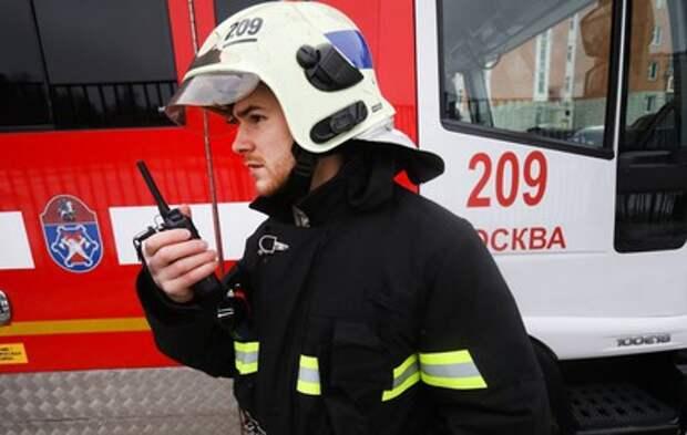 На северо-востоке Москвы произошел смертельный пожар