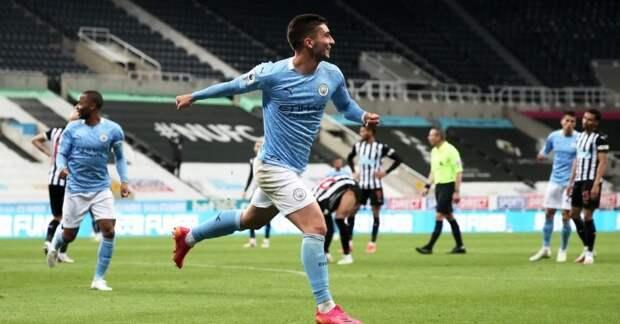«Манчестер Сити» обыграл «Ньюкасл» в результативном поединке