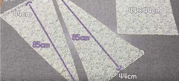 Топ, жилет и накидка — в одном: гениальная в своей простоте кружевная кофта-трансформер