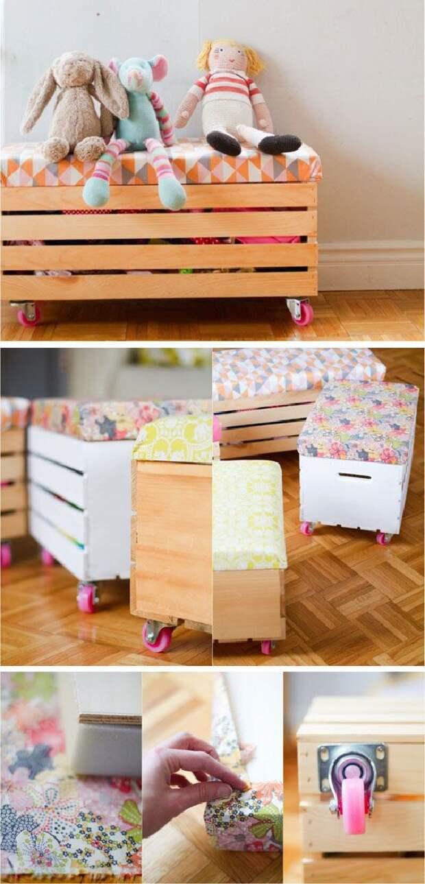 мебель своими руками из ящиков
