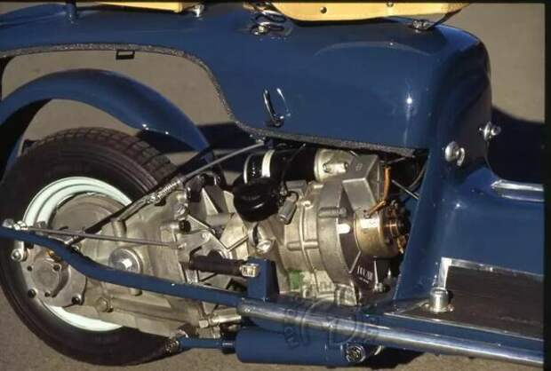 Шедевр своего времени. Мотороллер Ducati Cruiser 175