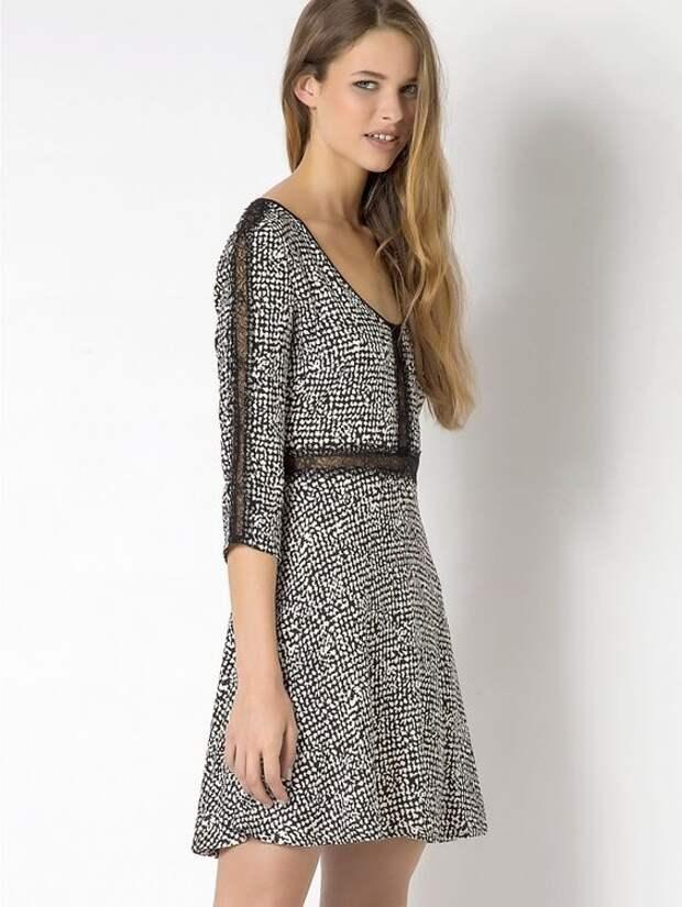 Увеличиваем платье