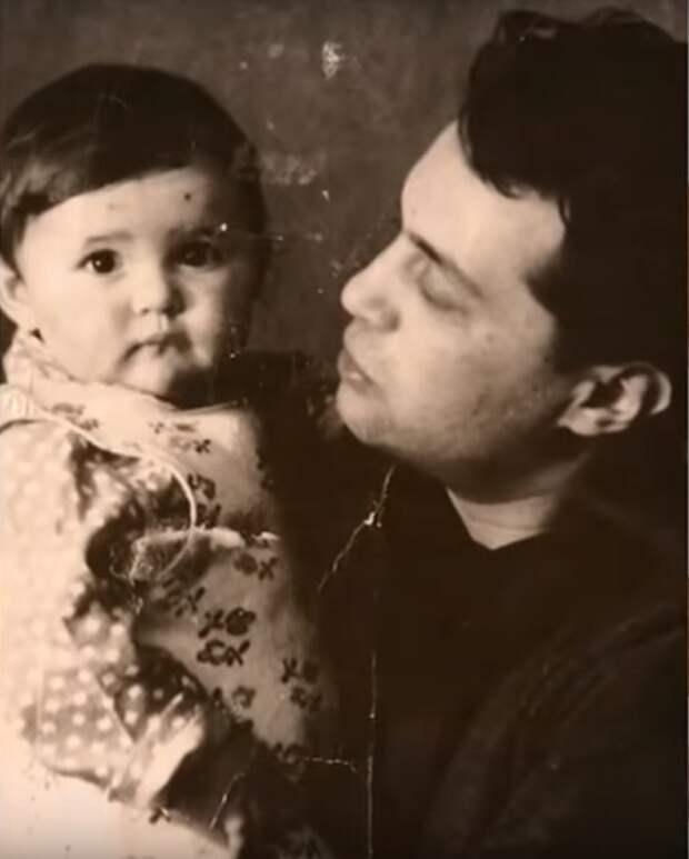 Виктор Токарев с дочерью. / Фото: www.russia.tv