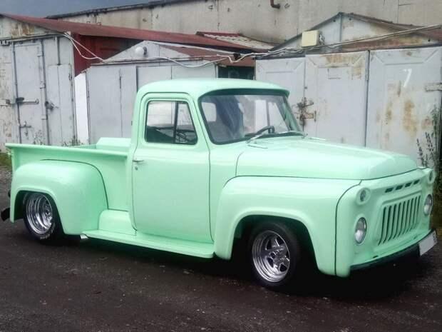 ГАЗ-Ф153 автомобили, машины, советские авто, тюнинг