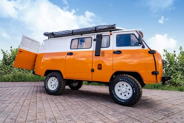 Автозавод УАЗ собирается запустить в серийное производство внедорожник «Байкал»