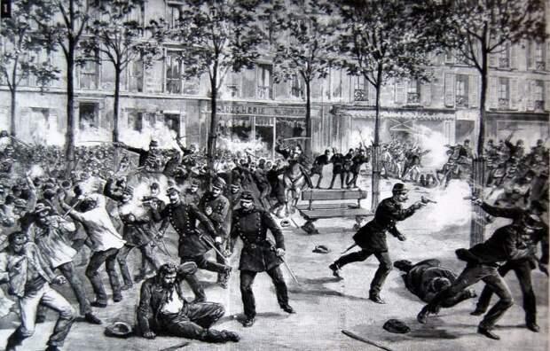 1 мая отмечается в память об американских рабочих. /Фото: newspapers.com.