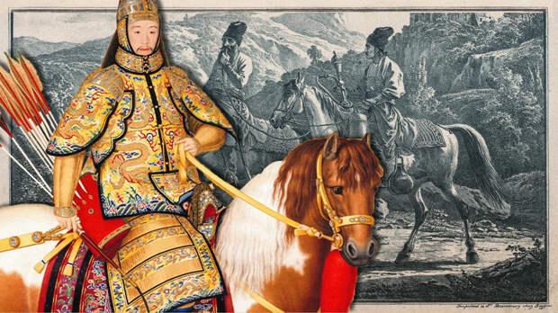 Как русские казаки стали личной гвардией китайского императора