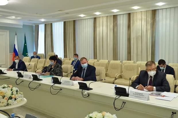 Глава Адыгеи провел совещание по вопросам эксплуатации Краснодарского водохранилища