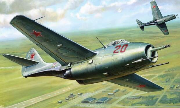 Самолет МиГ-9 – первый из первых