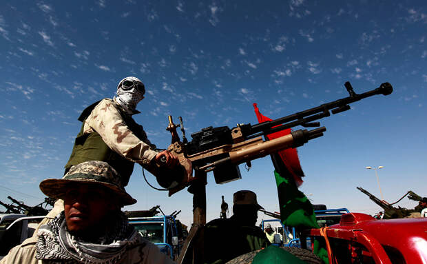 Народная армия вошла в ливийскую столицу Триполи