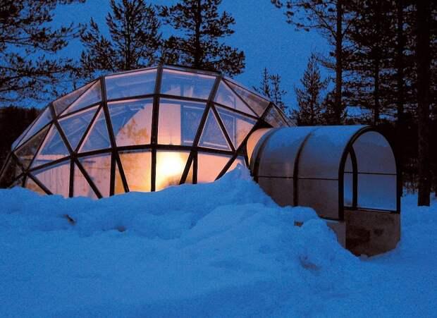 8 самых удивительных ледовых отелей мира