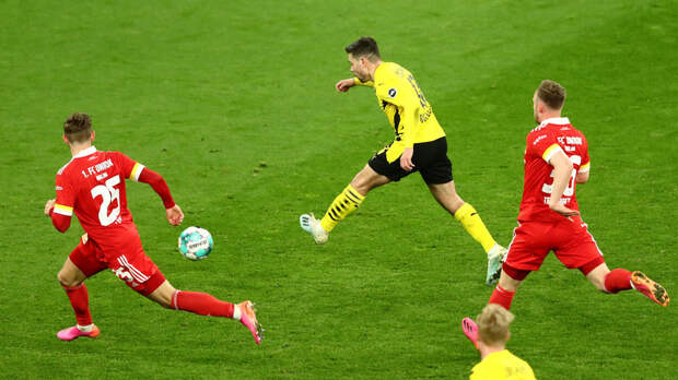 «Боруссия» победила «Унион» в матче Бундеслиги