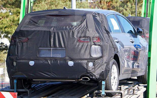 Обновленный Kia Ceed впервые замечен на дороге