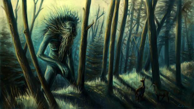 Лесные жители. Иллюстрация из открытых источников.