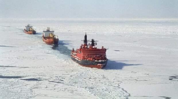 «Золотой караван» Китая предпочел Севморпуть маршруту через Суэцкий канал