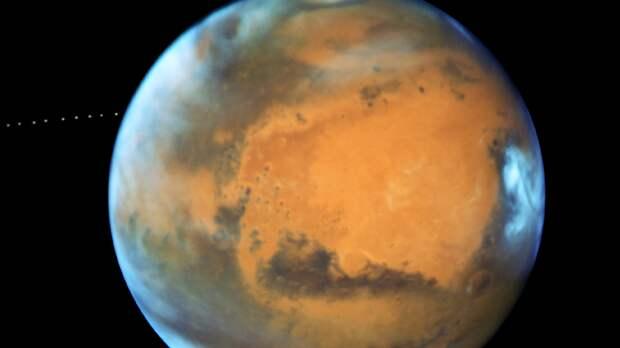 Китайский марсоход успешно приземлился на поверхность Красной планеты