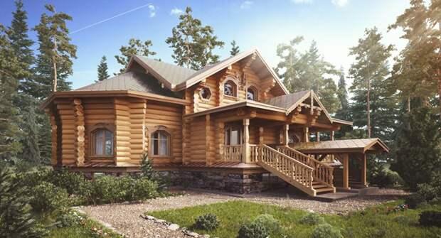Власти поощрят рублем россиян, которые решили построить деревянные дома