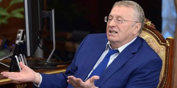 Жириновский рассказал где должны спать супруги