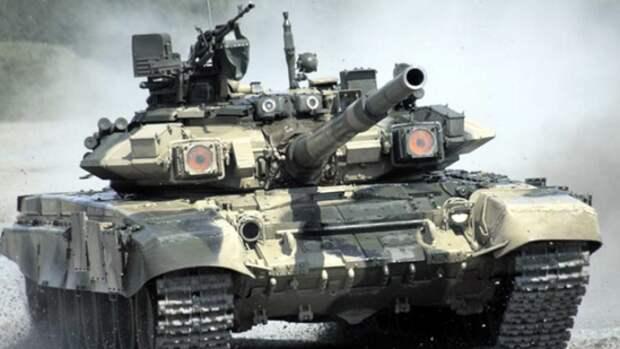 """На Украине показали видео """"уничтожения"""" танка Т-90"""