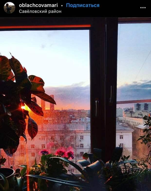Фото дня: солнце в окне в Савеловском
