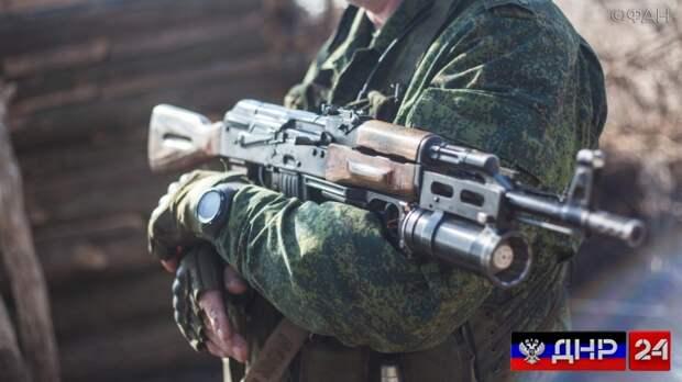 Военнослужащий ДНР погиб в результате вражеского обстрела