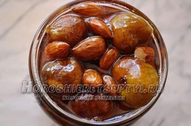 Варенье из инжира с орехами