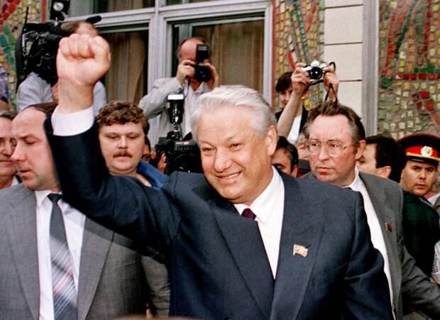 Взлет и падение Бориса Ельцина