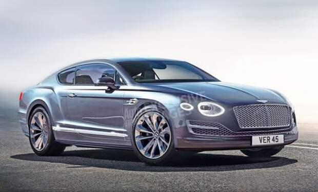 Почти что Porsche: новый Bentley Continental GT останется немцем