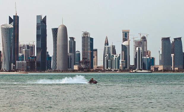 На фото столица Катара - Доха