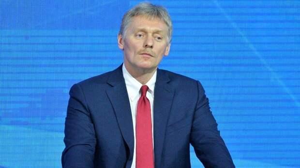 Песков заявил о негативном отношении Москвы к истерике Праги