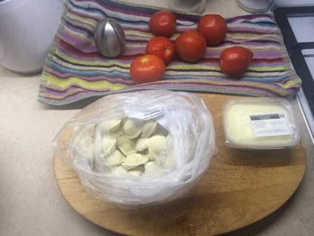 Пельмешки на помидорном соку (без воды) пельмени, еда, здоровое питание, длиннопост