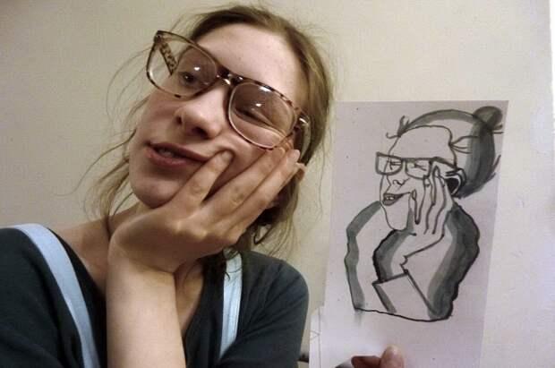Девушка ранила мужчину перочинным ножом, оказавшимся у неё благодаря увлечению рисованием.