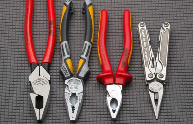 Пассатижи VS плоскогубцев: в чем разница между инструментами