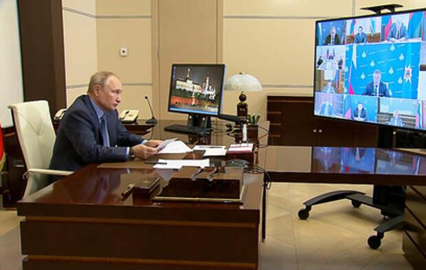 Пожары, вакцинация и цены на продукты: главное из совещания Путина с кабмином
