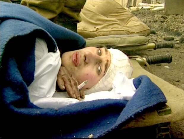 Жуткие кадры первой чеченской от съемочной группы Александра Сладкова