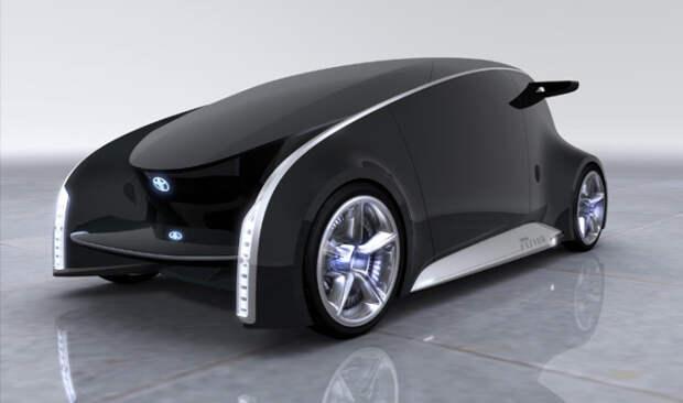 4. Toyota fun-vii авто, автомобили будущего, уникальные автомобили