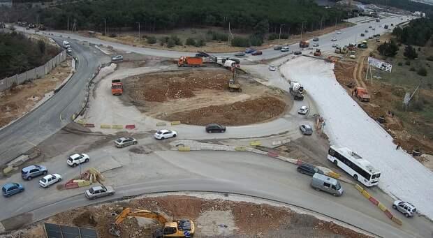 В Севастополе открыли четырёхполосное движение по Камышовому шоссе