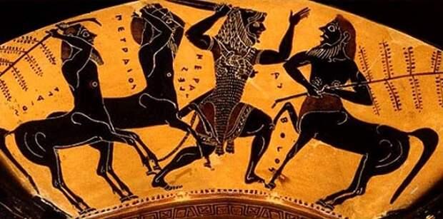 Кентавры: истреблённые существа Древней Греции