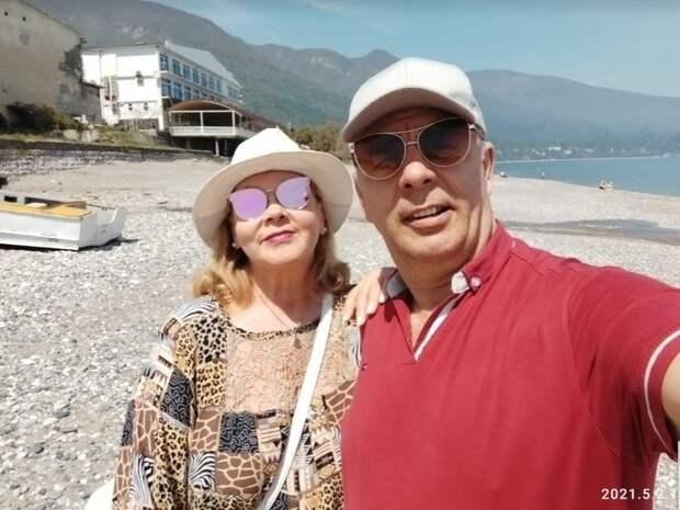 Фото автора. Море, горы, пляж - всё, как мы хотели...