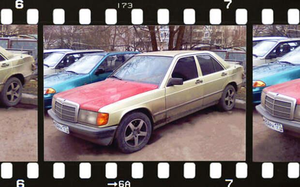 Мой первый автомобиль: Mercedes-Benz W201