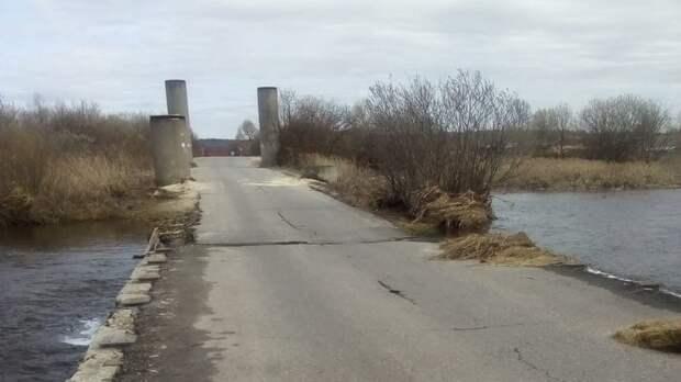 Паводок отступает: отводы освободилисьдва моста и дорога вНижегородской области