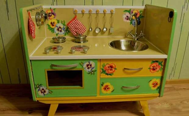 Детская кухня своими руками