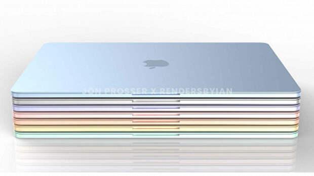 Так выглядит MacBook Air на SoC Apple M2. Опубликованы качественные изображения