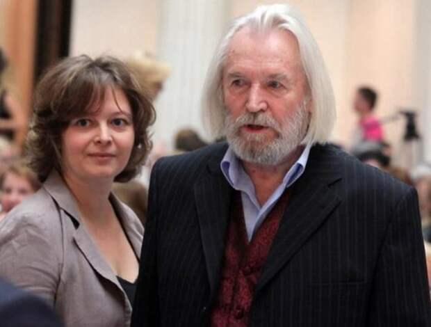 Актер со второй женой, Ириной Корнеевой | Фото: 2aktera.ru