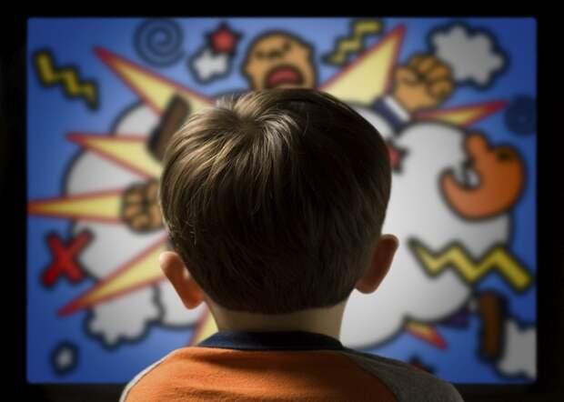 Телевидение делает детей более глупыми.