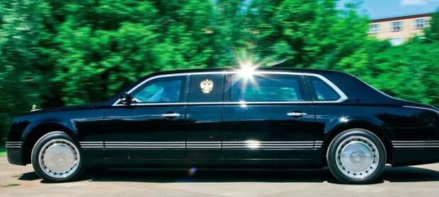 """Лимузин """"Кортеж"""" - тестирует президент МАШИНОСТРОЕНИЕ, история, кортеж, лимузин, россия, факты"""